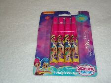 NEW SHIMMER AND SHINE 4 MAGIC FLUTES PARTY FAVORS