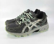 Asics Gel Venture 6 Running Shoes Grey Teal Camo T7G7Q Womens Size 8.5 D