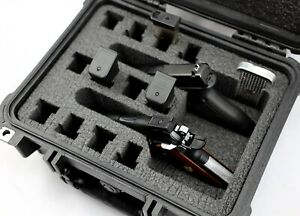 New Armourcase 1400 case + Quickdraw  2 Pistol Foam + free engraved nameplate