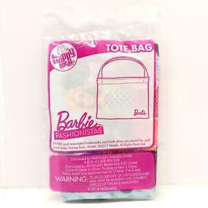 Barbie McDonalds Happy Meal Toy 2018 Barbie Tote Bag UNOPENED McDonalds Toy