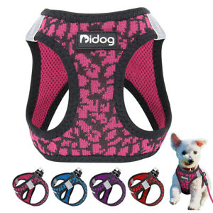 Reflective Soft Mesh Pet Dog Harness Vest for Small Pet Puppy Chihuahua Poodle