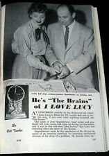 I LOVE LUCY 1955 PICTORIAL JESS OPPENHEIMER PRODUCER LUCILLE BALL * JAYO VIEWER