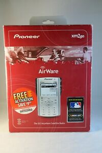 Pioneer AirWare xm2Go Satellite Radio Reciever GEX-AIRWARE1 Home & Car Kit