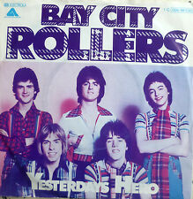 "7"" 1976 2nd Press! Bay City Rollers: Yesterdays Hero"