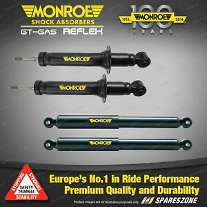 Front + Rear Monroe GT Gas Reflex Shock Absorbers for Audi Q5 8R Quattro 09-on