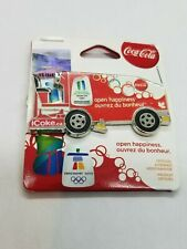 VANCOUVER 2010 OLYMPIC - COCA COLA - ICE RESURFACER PIN - ON ORIGINAL CARD.