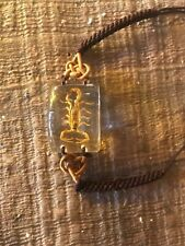 Bracelet Scorpion Insect Specimen Rectangle clear amber bead unique euc rope hot