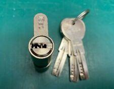 ISEO Double Euro Lock Cylinder With Key - Locksmith Locksport Dimple Lock