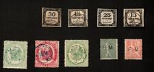 France Stamps Mixed Lot of Telegraph, Tax, and Military Stamps
