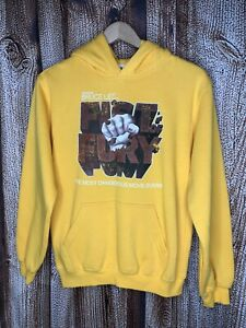 Bruce Lee Pullover Hoodie Sweatshirt Size Youth XL Fist Of Fury