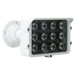 100m Infrared IR Illuminator LED Security Floodlight Lamp for Night Vision CCTV