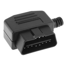 Universal OBD 2 OBDII 16 Pin Male Cable Connector Plug Adapter Diagnostic Tool