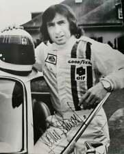 Sir Jackie Stewart 3X WORLD CHAMPION signed extra rare vintage card 1974-1975!!