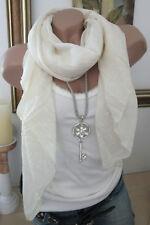 écharpe en soie foulard couleur chair Ancre Coton noble luxe