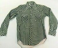 Miller Western Wear Pearl Snap Long Sleeve Men's Shirt Size Large 16x34