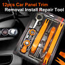 12 pcs Tools Kit Car Auto Door Trim Panel Dash Audio Stereo Radio Removal Pry