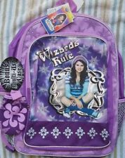 Wizards of Waverly Place Backpack NEW Full Size Canvas Book Bag Selena Gomez NWT