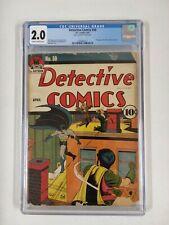 DETECTIVE COMICS #50 CGC 2.0 GOLDEN AGE BATMAN COMIC