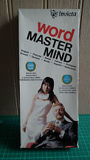 Vintage Invicta Word Master Mind Game - Excellent Condition!