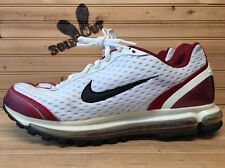 Nike Air Max 2004 sz 12 White Black Red 308533-101