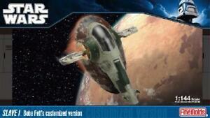 Fine Molds SW-14 1/144 Scale Model Kit Star Wars Slave I (Boba Fett Version)