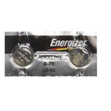 New Energizer A76 LR44 AG13 L1154 G13 V13GA Alkaline Batteries Fresh 2 Batteries