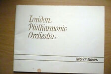 London Philharmonia Orchestra Pro 1976- THE BARENBOIM SERIES~D.FISCHER DIESKAU