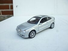 1:24 Welly / Schuco  Mercedes C Class Spots Coupe In Silver  Ohne Box