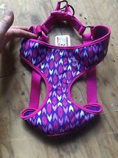 TOP PAW, Dog Comfort Harness NEW! Size Large,Tribal Hot Pink,Purple pattern