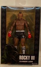 Rocky Clubber Lang Black Trunks NECA Rocky III Mr T Action Figure (Boxed)