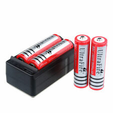 4 x UltraFire 3000mAh 18650 Battery 3.7v Li-ion Rechargeable Batteries & Charger