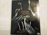 """Bam Box Horror Zack Ward """"Bobby Davis"""" Freddy vs Jason signed Photo with COA"""