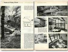 1960 House Sited In Woodland Near Friday Street Design, Plans