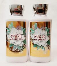 2 Bath & Body Works MAGIC IN THE AIR Body Lotion Cream Moisturizer 8 oz