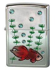 ZIPPO Lighter Goldfish Kingyo Red from Japan Best Buy Gift 63350298