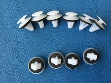 ROVER 75 SIDE SKIRT MOULDING BUMP STRIP FASTENER PUSH IN TRIM CLIPS (10PCS)
