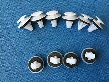 MG SEITENSCHWELLER FORM BUMP STREIFEN VERSCHLUSS PUSH-IN TRIM CLIPS (10PCS)