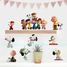 Snoopy Dog Removable Wall Stickers Kids Nursery Decals DIY Decor Art Gift
