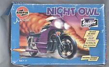 """Airfix Junior """"NIGHT OWL"""" kit moto in plastica-Shadow FIGHTERS Nuovo di zecca con scatola"""