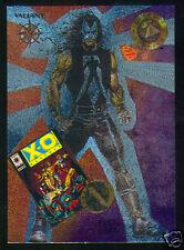 1993 VALIANT FOIL CHASE INSERT CARD (X-O MANOWAR) #FA1 - MINT / NEAR MINT
