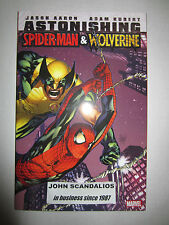 ASTONISHING SPIDER-MAN & WOLVERINE Trade PaperBack UNREAD Marvel TPB New 2011
