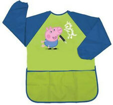 George Peppa Pig Green and Blue Apron for Children NEW