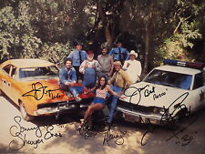 Dukes Of Hazzard Hand Signed 10x14 Cast Photo Signed By 5 Jsa Authentic