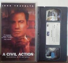 VHS FILM Ita Legal Thriller A CIVIL ACTION john travolta no dvd(VHS10)