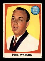 1961 Topps #1 Phil Watson CO ! VGEX X1502840