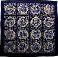 """Wrapping Cloth Furoshiki Fabric Table Aesop's Fables 39x39""""(100x100cm) Japanese"""