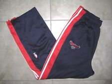 Adidas NBA ATLANTA HAWKS Tear away Practice WarmUp Basketball Sweat Pants USED L