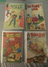 4 Comics Richie Rich #76 Wally 1963 #4 Winnie The Pooh #8 Tim Tyler's Luck 1973