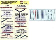 KORA Decals 1/72 FINNISH WWII PROPELLER LOGOS