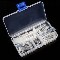 Brillen-Reparatur Werkzeug Schraube Mutter Nasenpad Set Sortiment Kit am besten